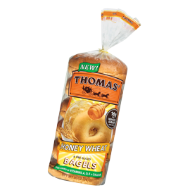 Thomas'® Honey Wheat Bagels