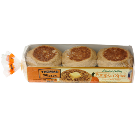 Thomas'® Pumpkin Spice English Muffins