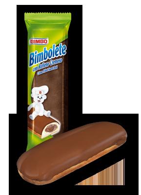 Bimbolete - Cream Filled Sweet Roll Nutrition Label