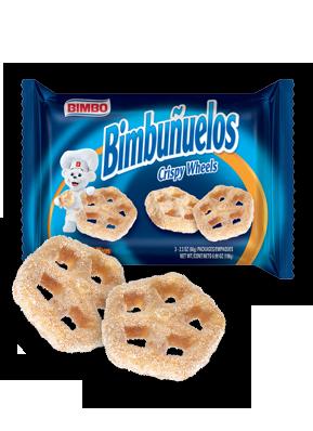 Bimbuñuelos - Crispy Wheels Pastry Nutrition Label