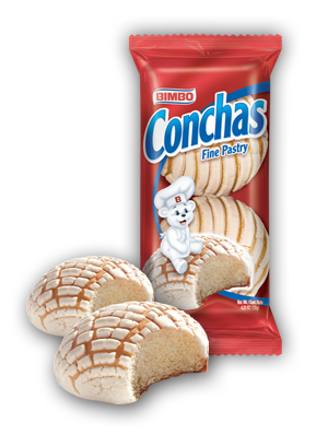 Conchas - Fine Pastry Nutrition Label