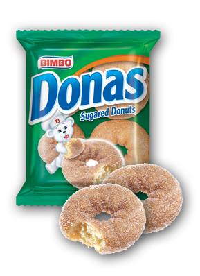 Donas - Donuts Nutrition Label