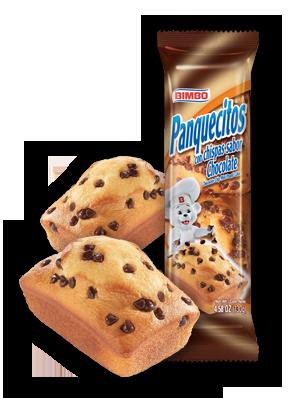 Panquecitos - Chocolate Chip  Mini Pound Cakes Nutrition Label