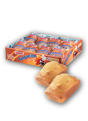 Panquecitos - Mini Pound Cakes Nutrition Label