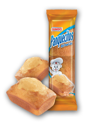 Panquecitos - Mini Pound Cakes Nutrition Label