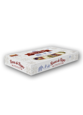 Rosca de Reyes -  3 Kings Traditional Mexican Bread Nutrition Label